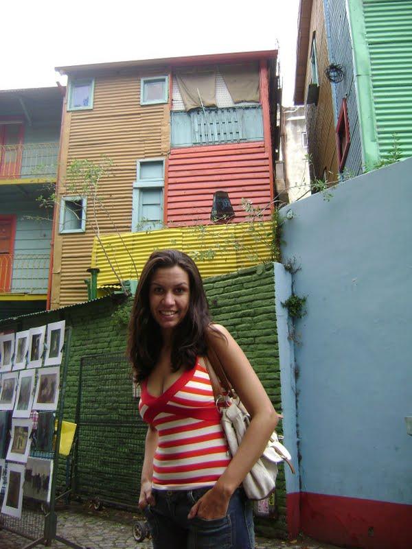 Caminito em Buenos Aires pela primeira vez