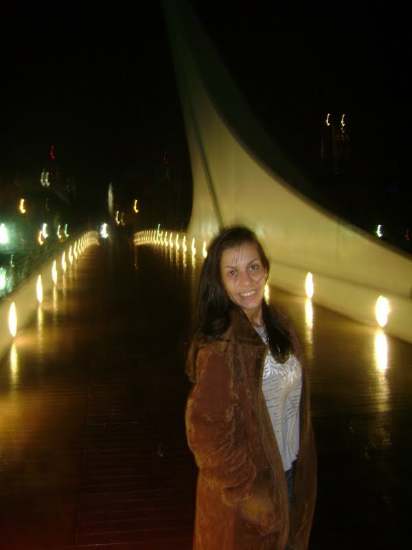 Ponte de La Mujer em Buenos Aires