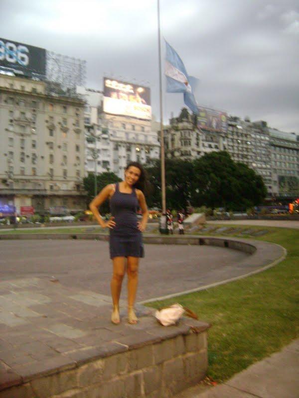 Av. 9 de Julio em Buenos Aires pela primeira vez