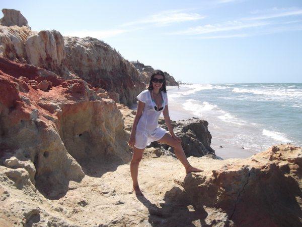 Praia das Fontes e Morro Branco