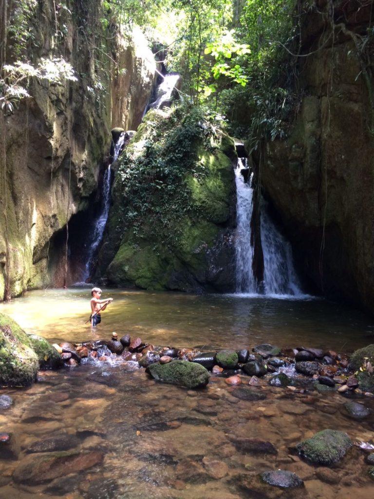 Cachoeira Indiana Jones em São Pedro da Serra