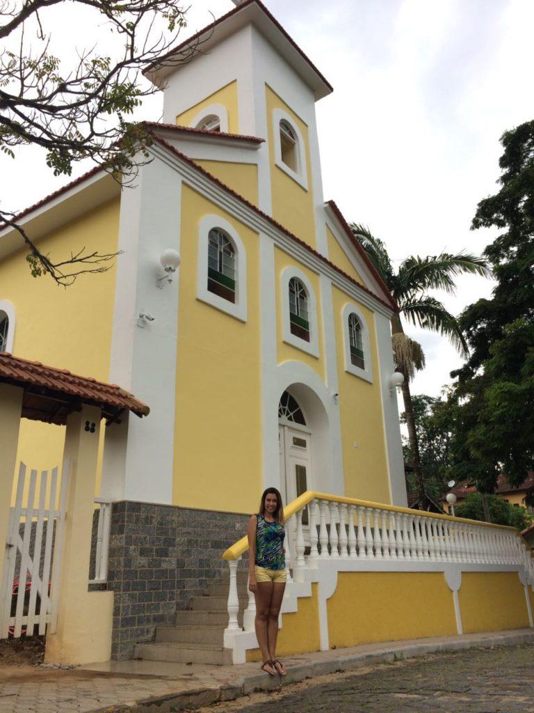 Igrejinha em São Pedro da Serra