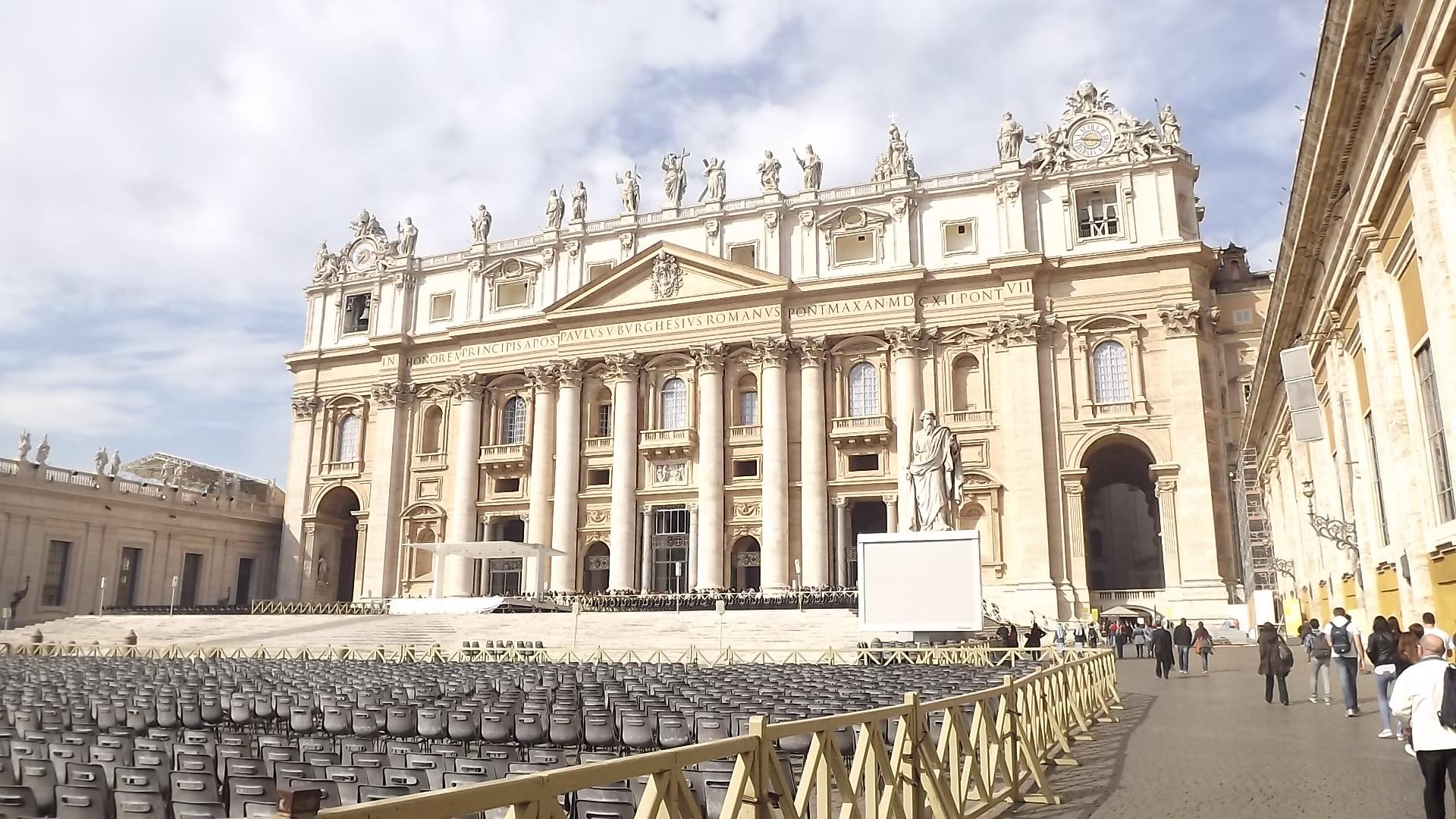 1 dia no Vaticano