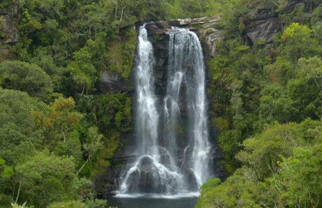 Cachoeira dos Garcia em Aiuruoca